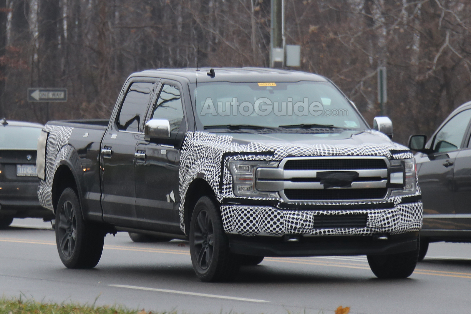 Updated Ford F-150 Spied with its New Face » AutoGuide.com ...