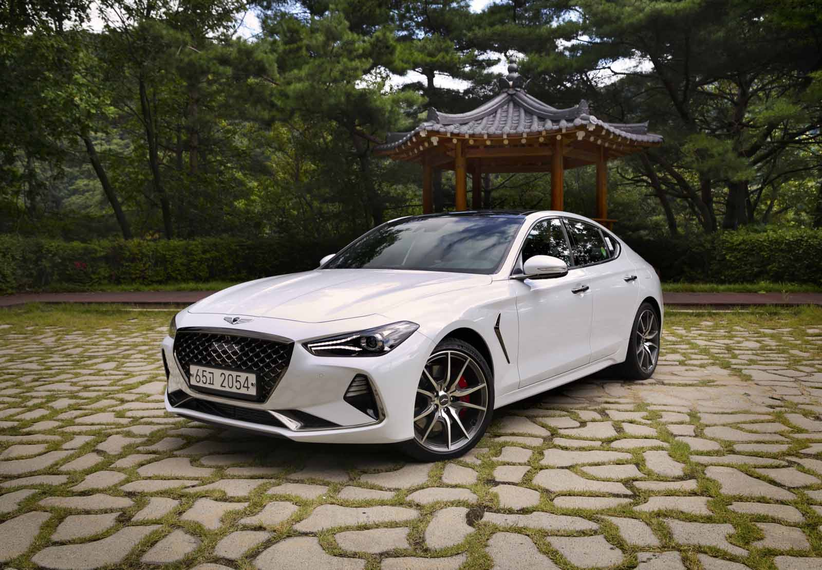 2018 genesis g70 review and first drive autoguide com 7 Speed Manual Transmission Automatic Transmission