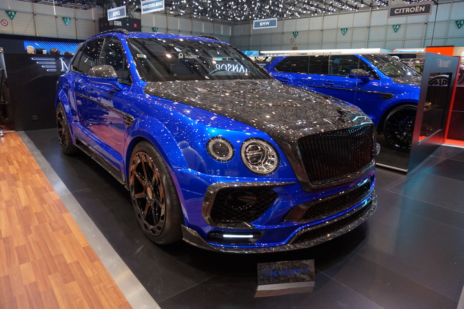 Gallery All The Tacky Exotic Cars Mansory Brought To Geneva - Luxury car show 2018