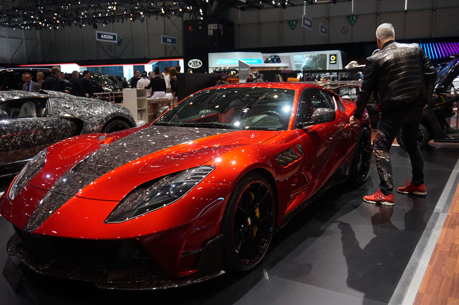 Gallery All The Tacky Exotic Cars Mansory Brought To Geneva