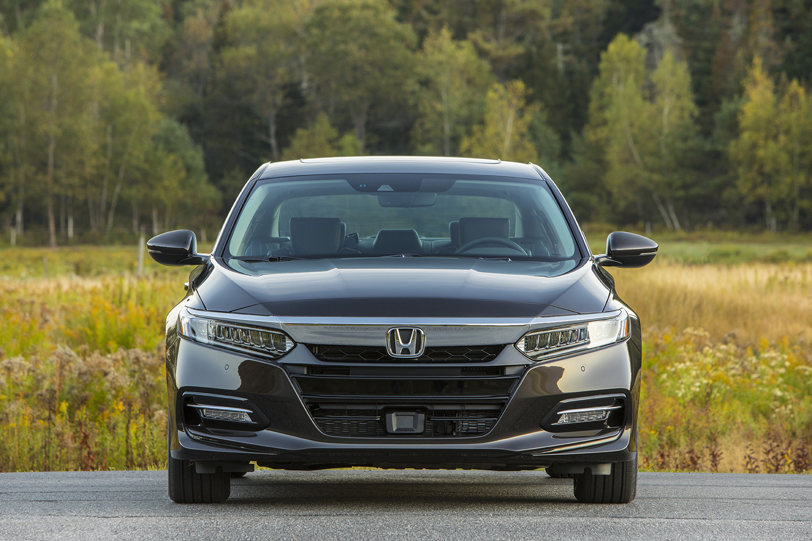 accord hybrid first drive cars review in motion quarter front three honda