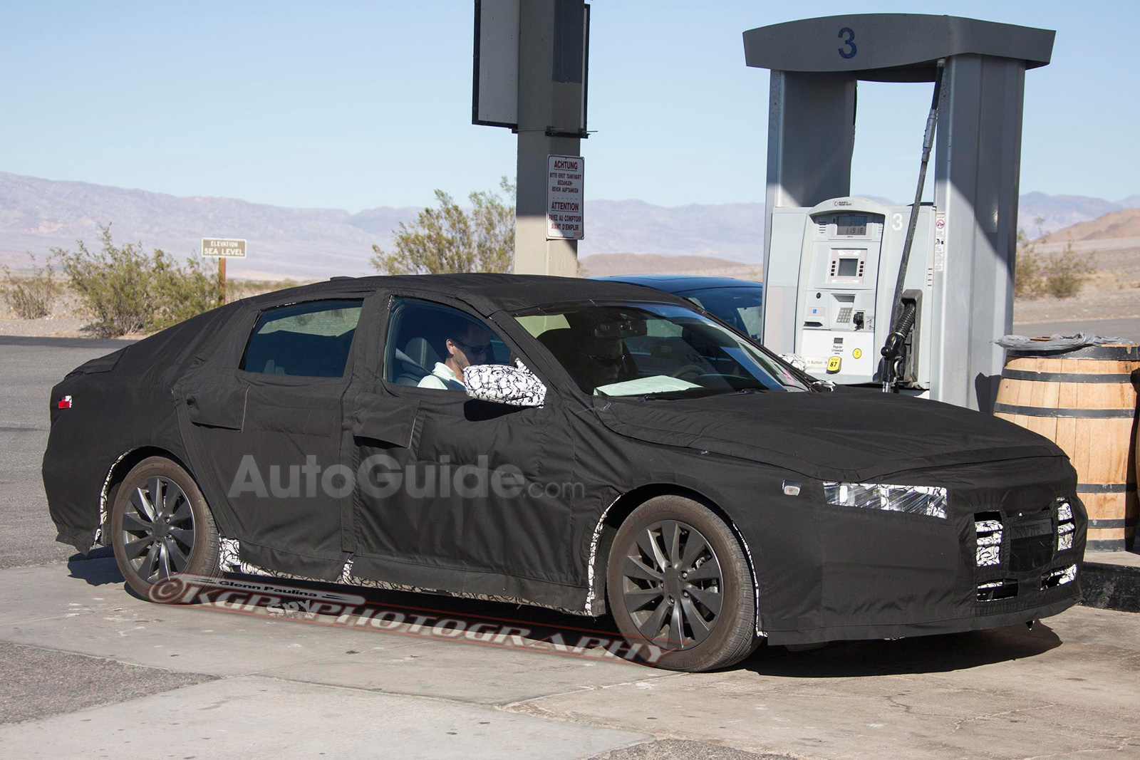Bigger 2018 Honda Accord Spied With Sleeker Profile Autoguide Com News