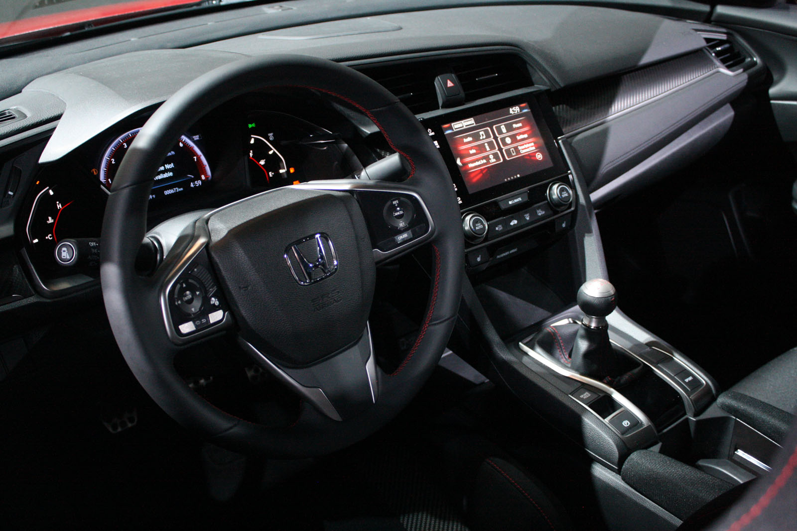 ... 2018 Honda Civic Si-13 ...