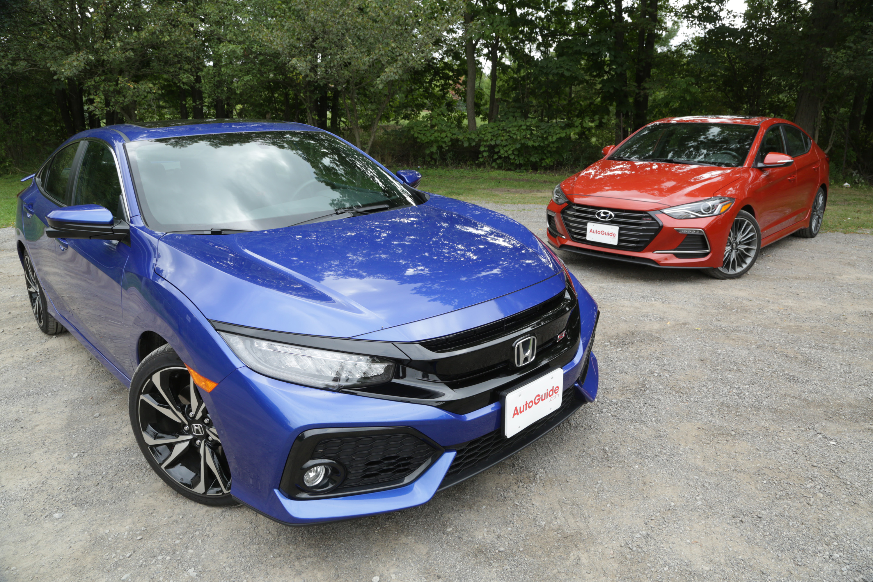 2018 Honda Civic Si Vs Elantra Sport Comparison