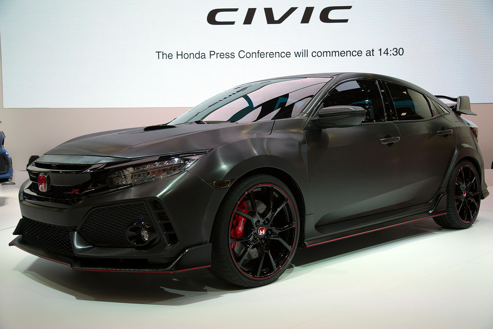 honda civic 2018 black. fine honda honda civic type r prototype02 to honda civic 2018 black a