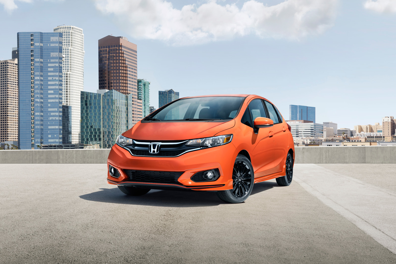 Honda Fit Updated: New colors, trim, equipment