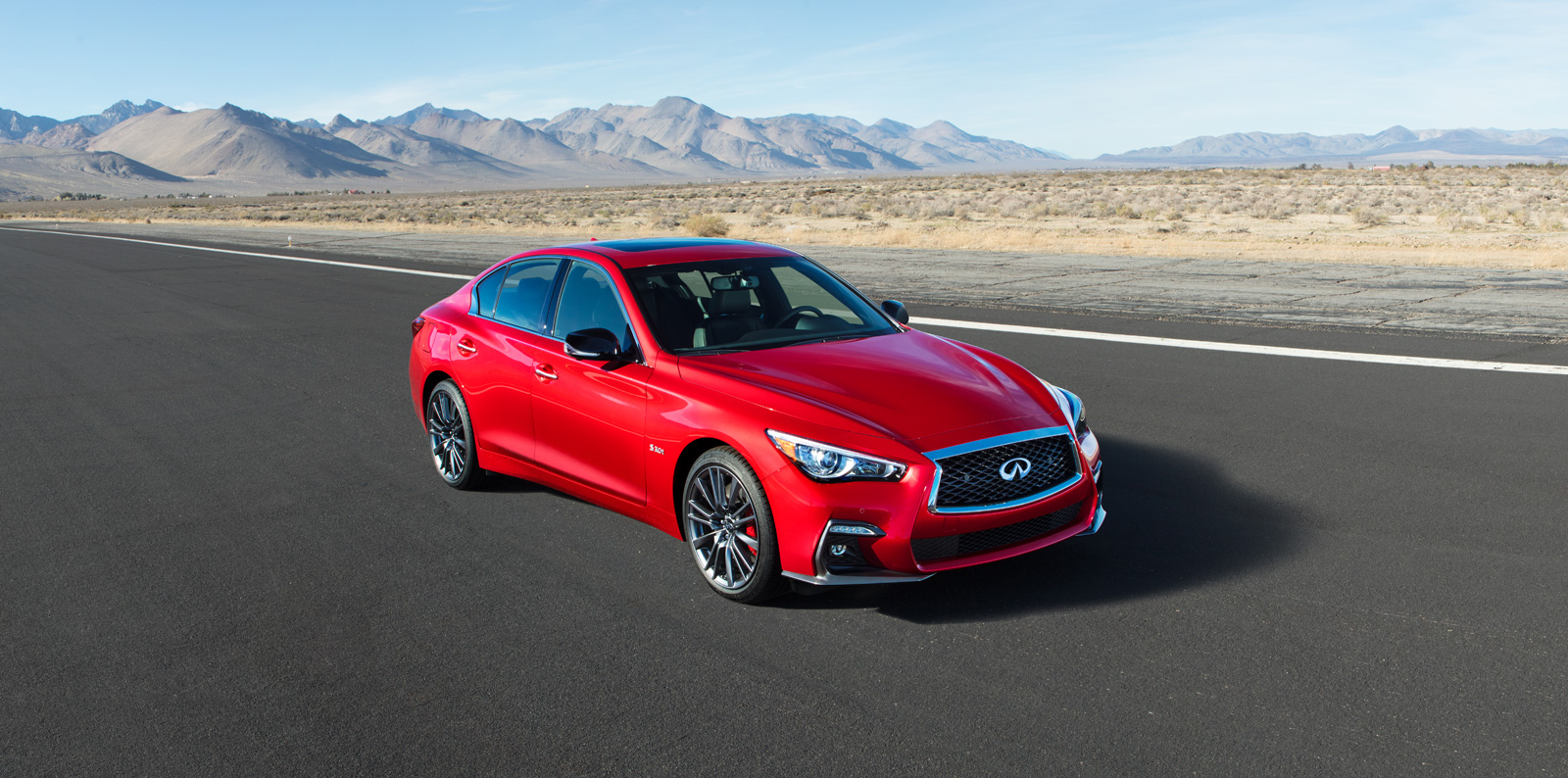 2018 Infiniti Q50 Makes Its North American Debut At The 2017 New