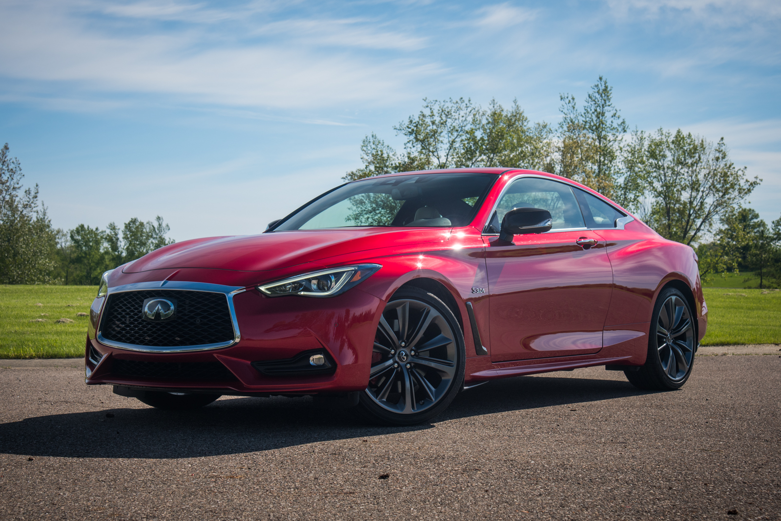 2018 infiniti q60 red sport 400 awd review. Black Bedroom Furniture Sets. Home Design Ideas