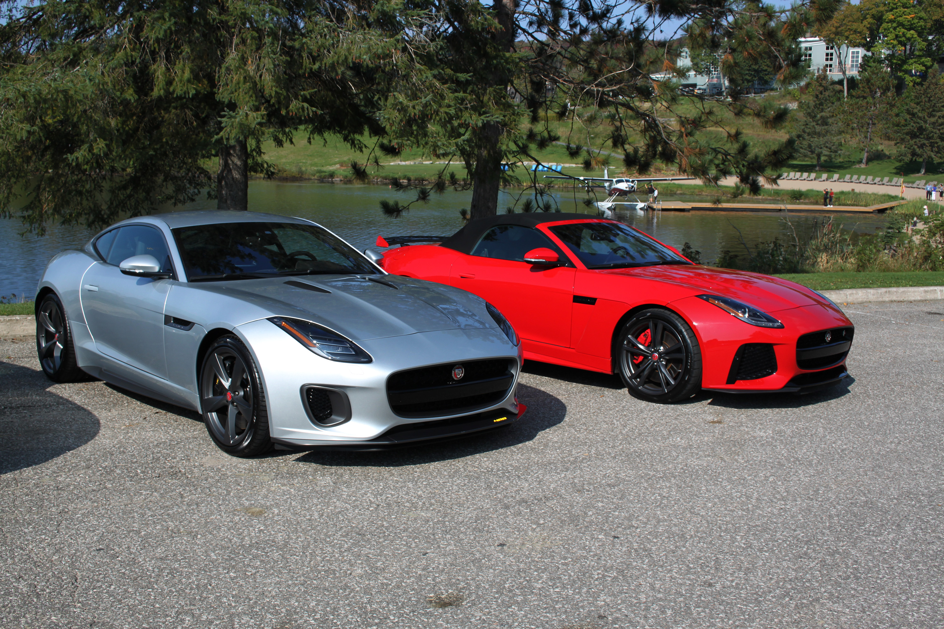 Jaguar F Types Together (3) ...