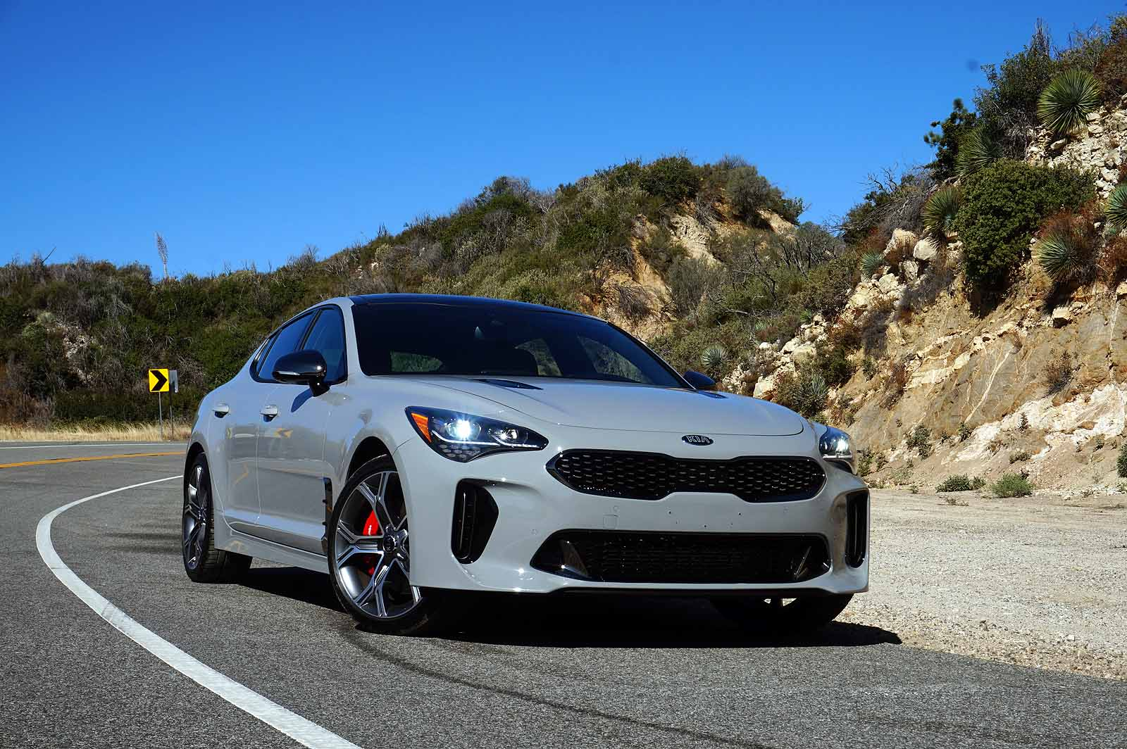 2 Person Car >> 2018 Kia Stinger Review | Kia Stinger GT Review - AutoGuide.com