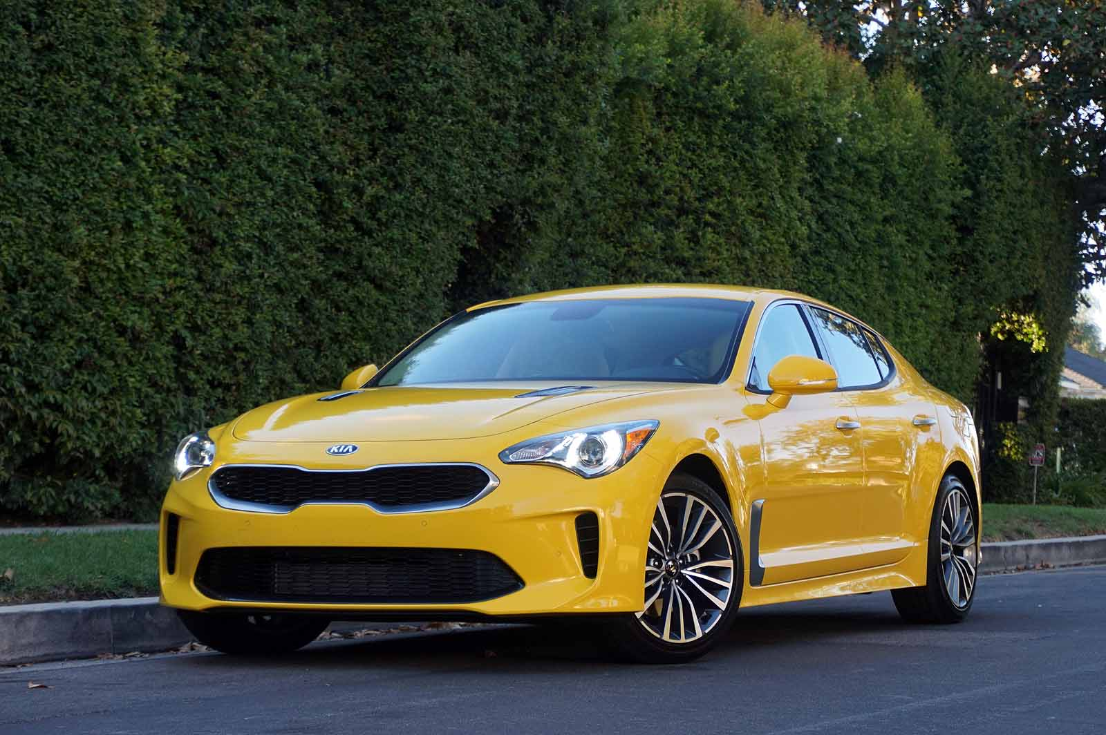 What People Are Saying About The 2018 Kia Stinger Sort Of