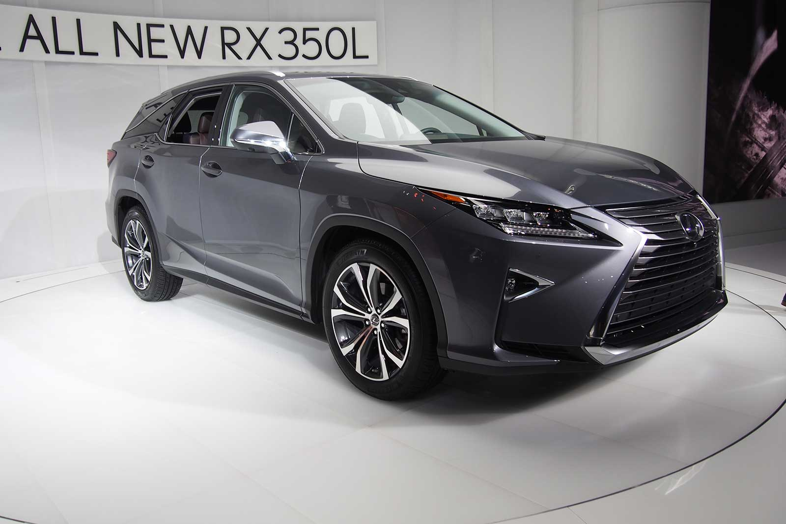 Lexus 3rd Row >> New 3 Row Lexus Rx L Debuts With Seating For 7 Lexus Is Forum