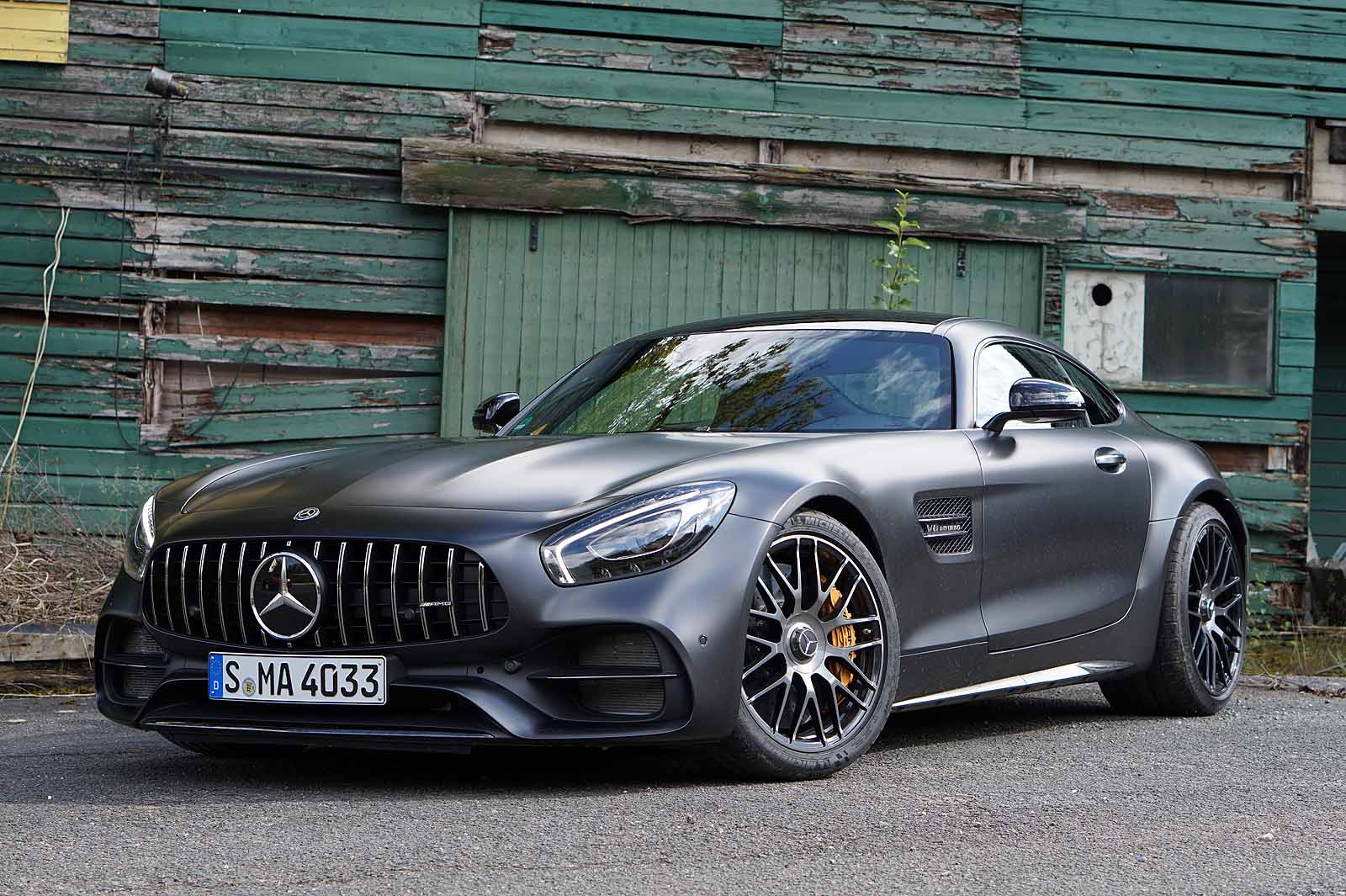 2018 mercedes amg gt review we drive the whole family and. Black Bedroom Furniture Sets. Home Design Ideas