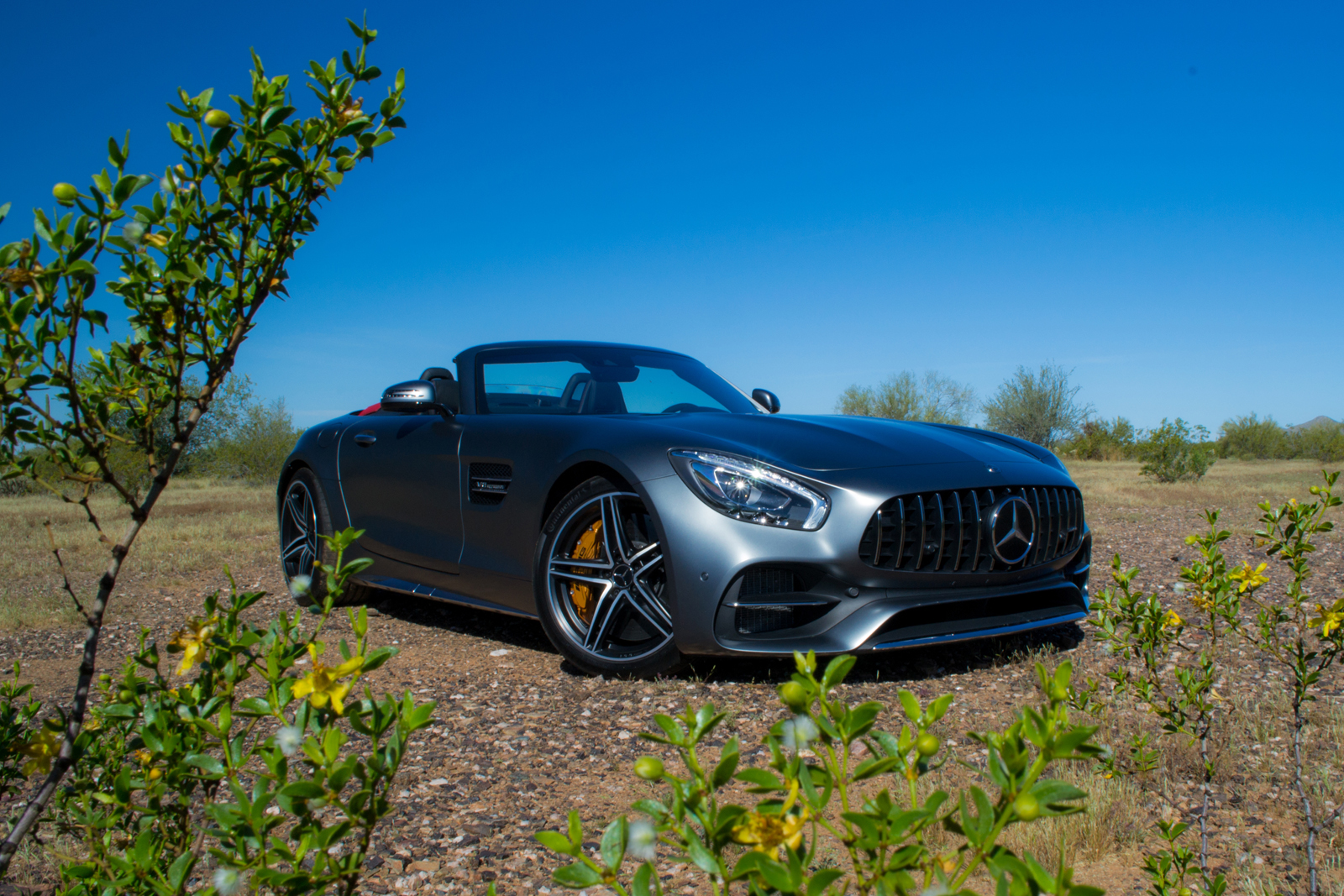 Mercedes Amg Gt Sports Car >> 2018 Mercedes-AMG GT Roadster Review - AutoGuide.com