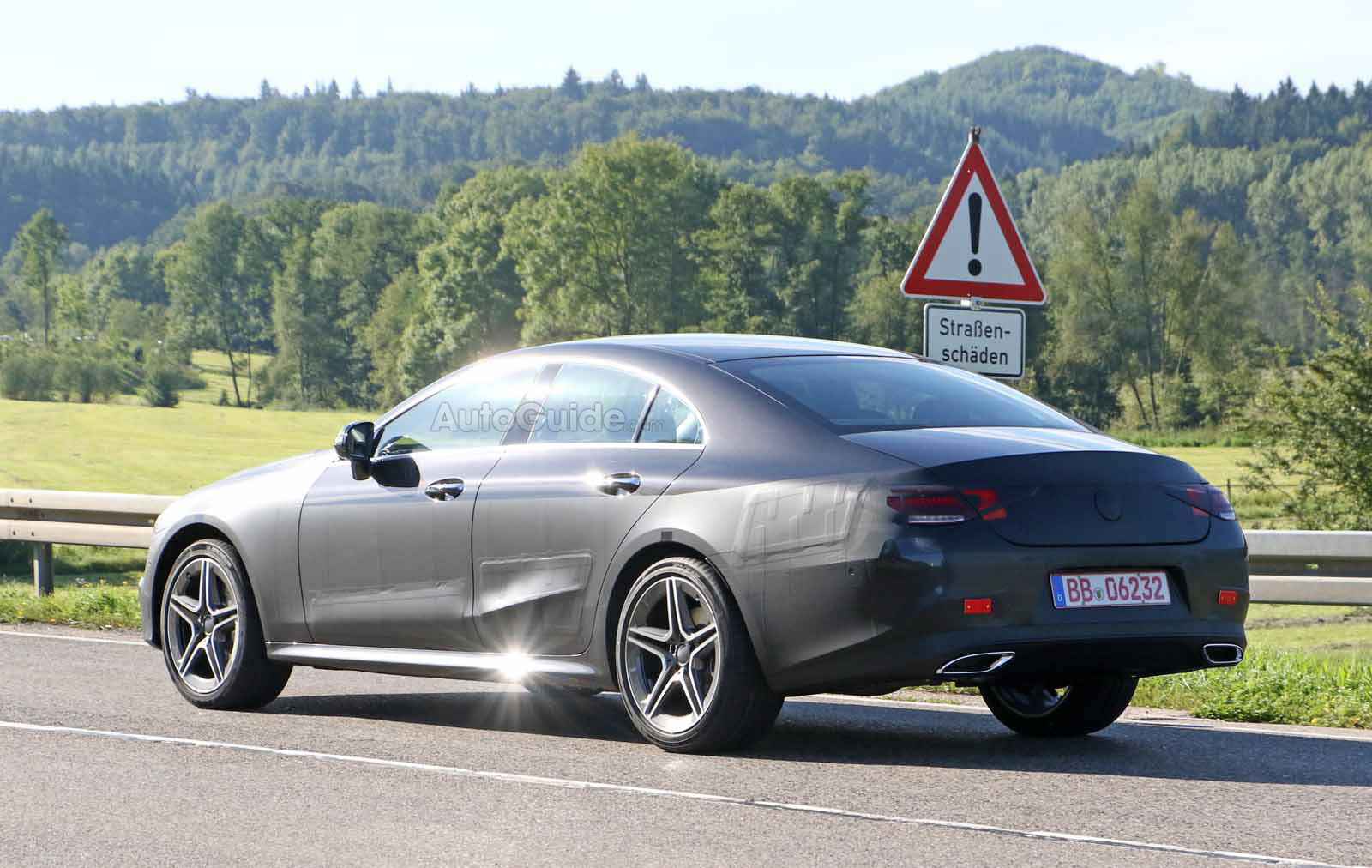 2018 mercedes benz cls. brilliant mercedes 2018mercedesbenzclsspied3 with 2018 mercedes benz cls