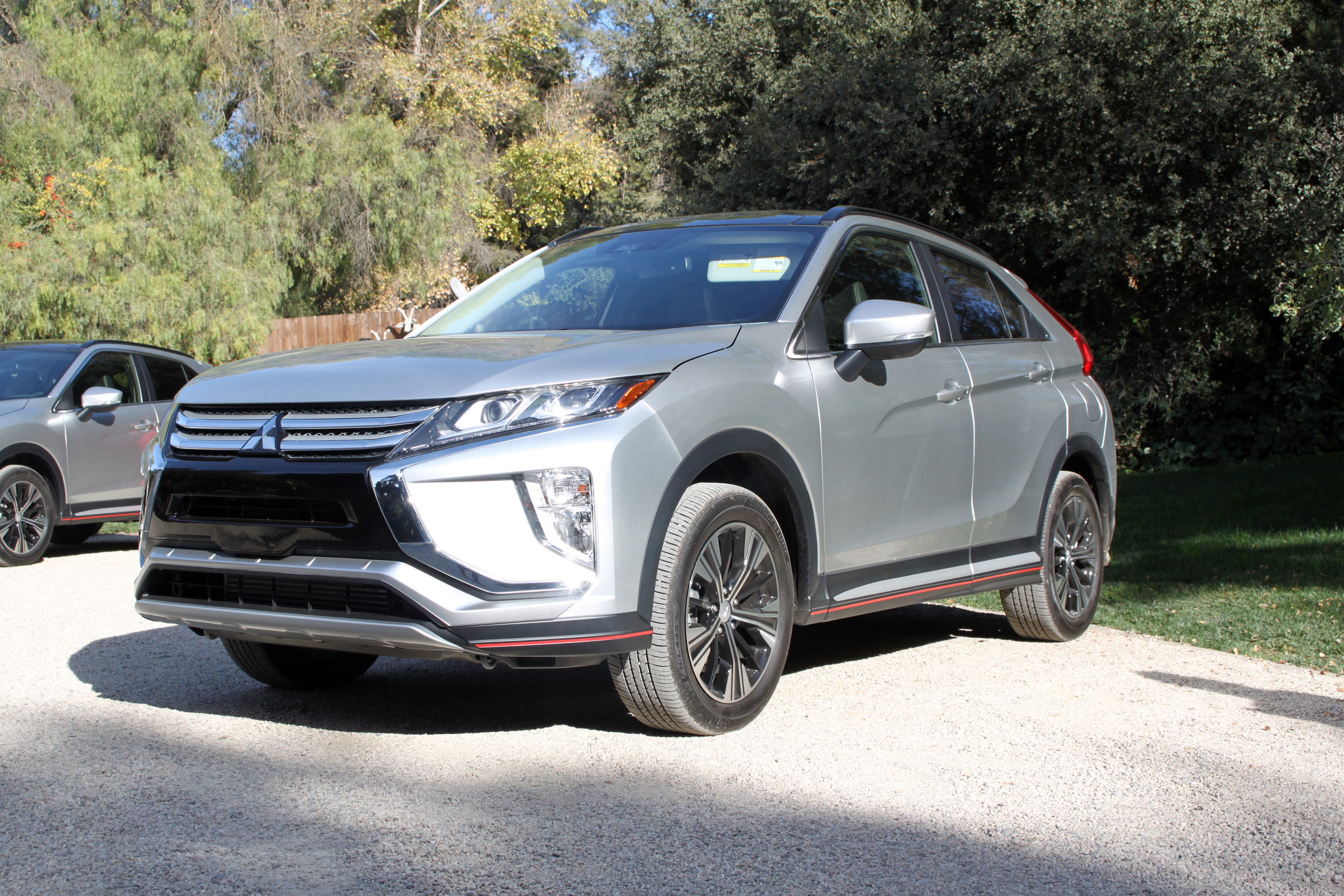 2018 mitsubishi eclipse cross first drive and review news. Black Bedroom Furniture Sets. Home Design Ideas