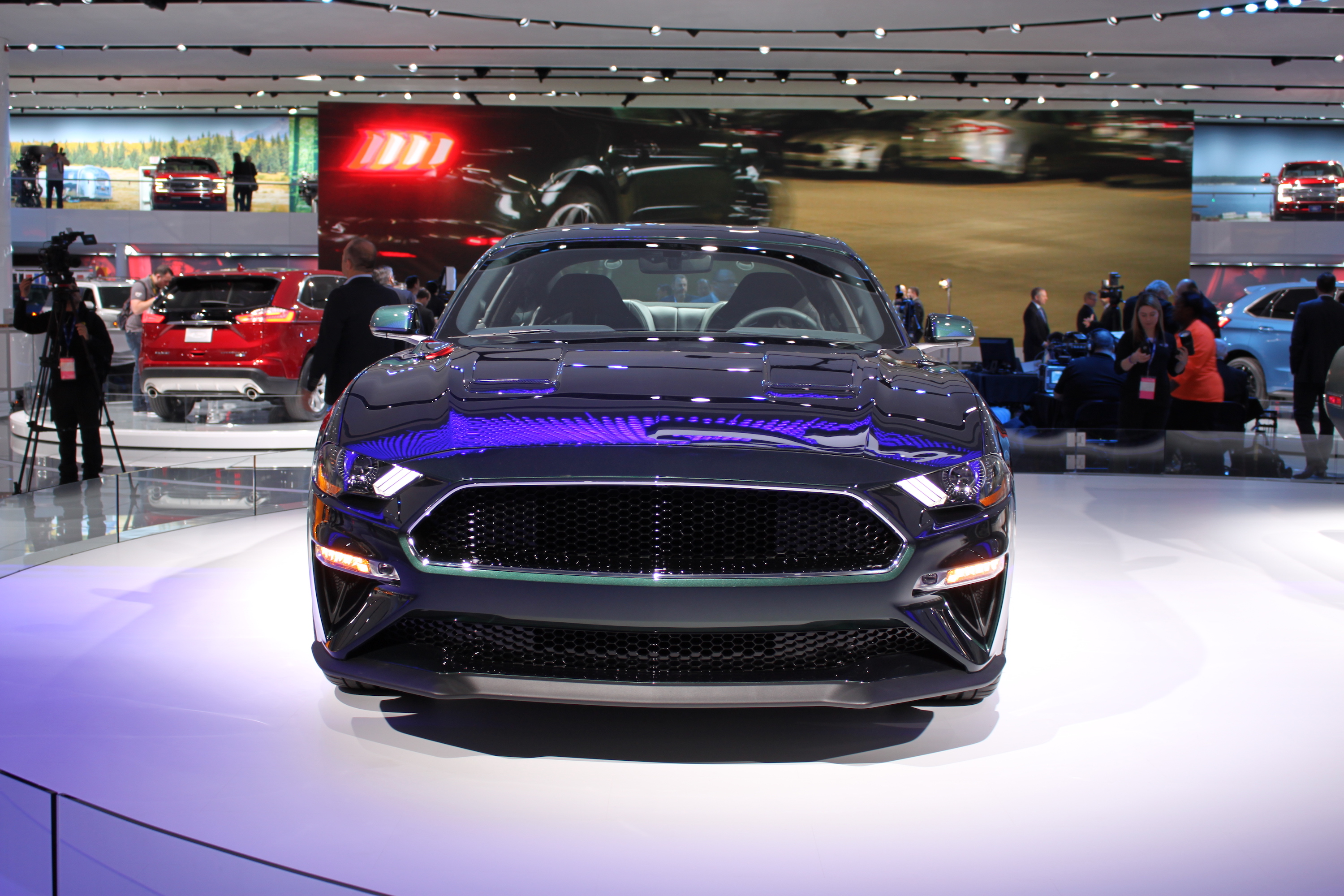 2019 ford mustang bullitt debuts with sinister looks and 475 hp v8 ford mustang forums corral net mustang forum