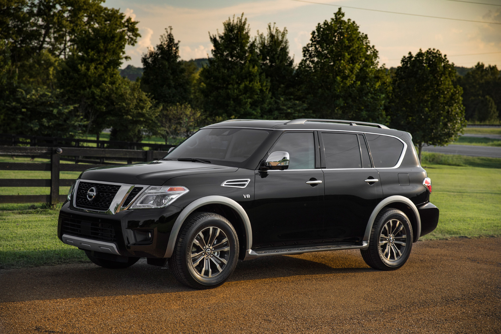 Smart Car Tires >> 2018 Nissan Armada Introduces New Fancy Rear View Mirror » AutoGuide.com News