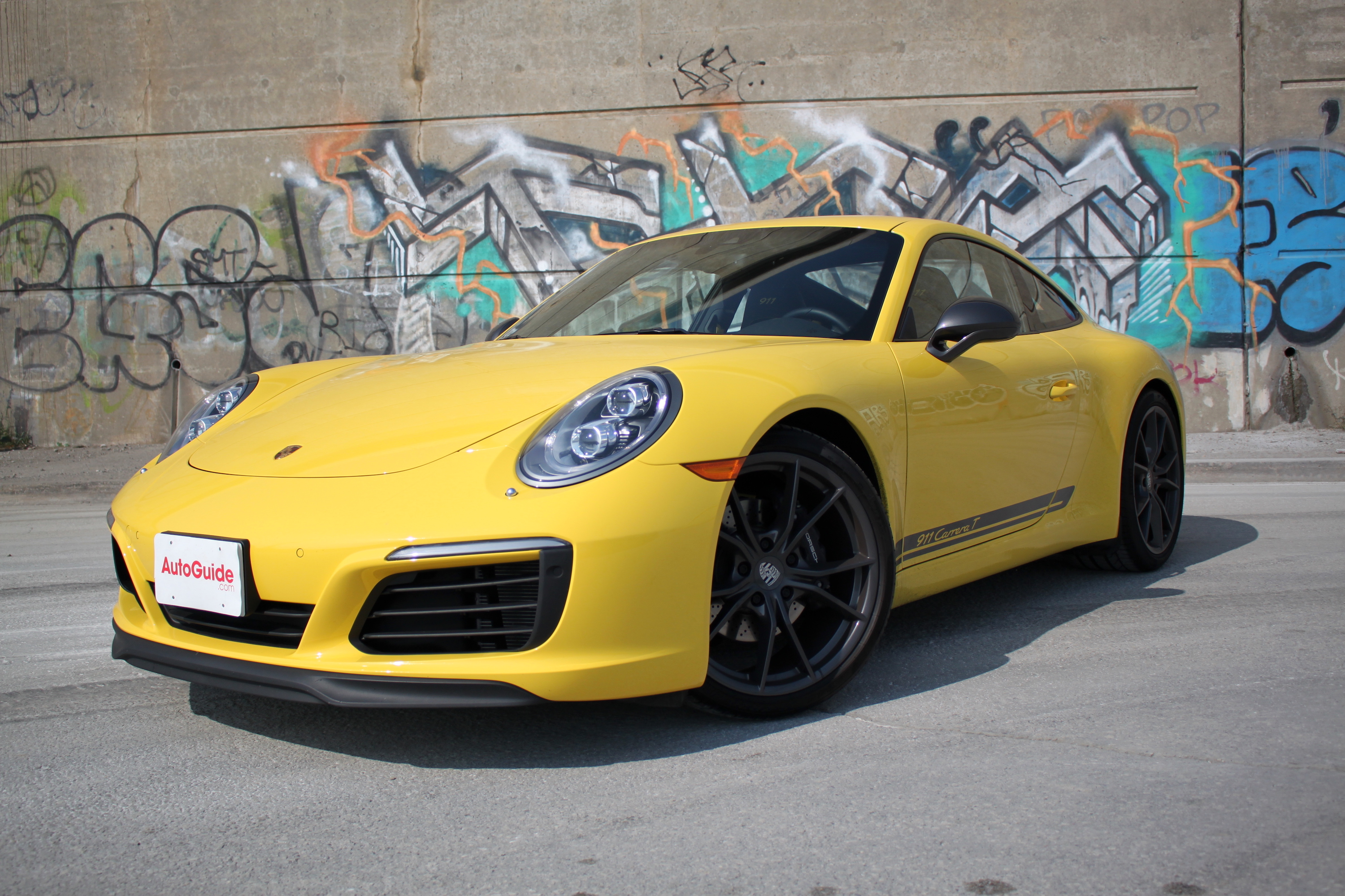 2018 Porsche 911 Carrera T Review Autoguidecom