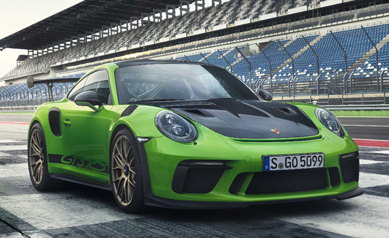 2018 porsche 911 gt3 rs delivers 520 naturally aspirated horsepower news. Black Bedroom Furniture Sets. Home Design Ideas