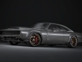 """The 1968 Dodge """"Super Charger"""" Concept, revealed on October 30, 2018, at the Mopar SEMA Show press briefing in Las Vegas, is the perfect package for highlighting the new """"Hellephant"""" 426 Supercharged Mopar Crate HEMI® Engine and Kit."""