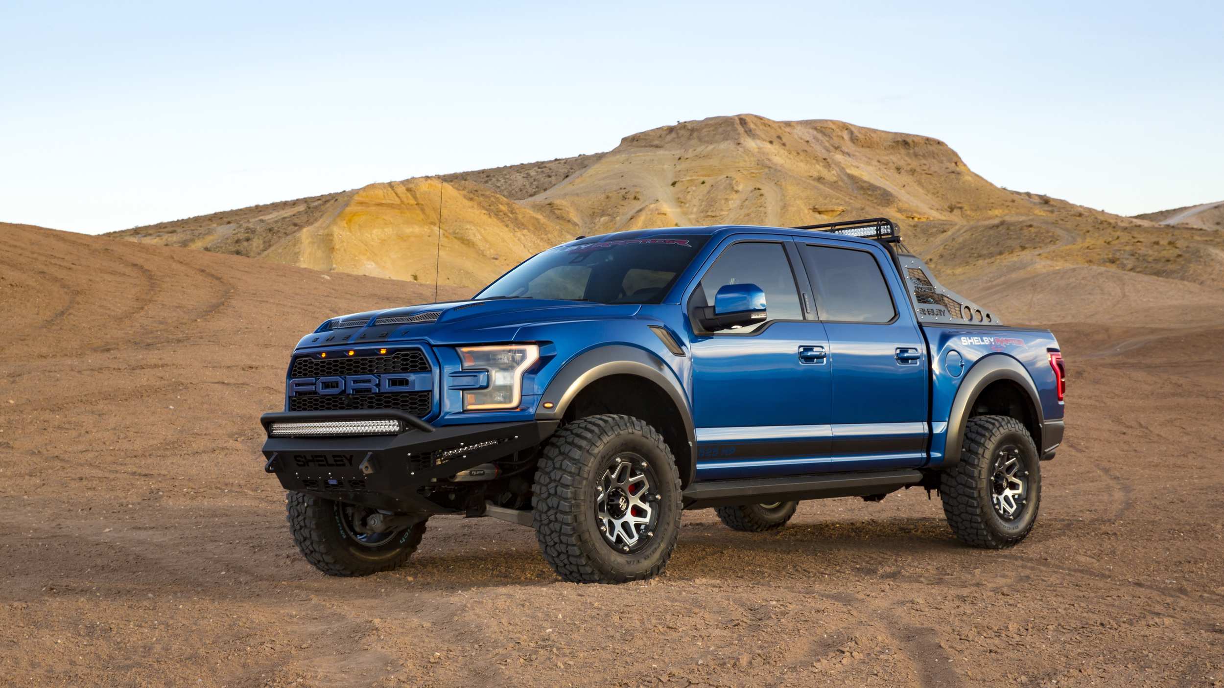 2018 shelby raptor goes big on power and price autoguide. Black Bedroom Furniture Sets. Home Design Ideas