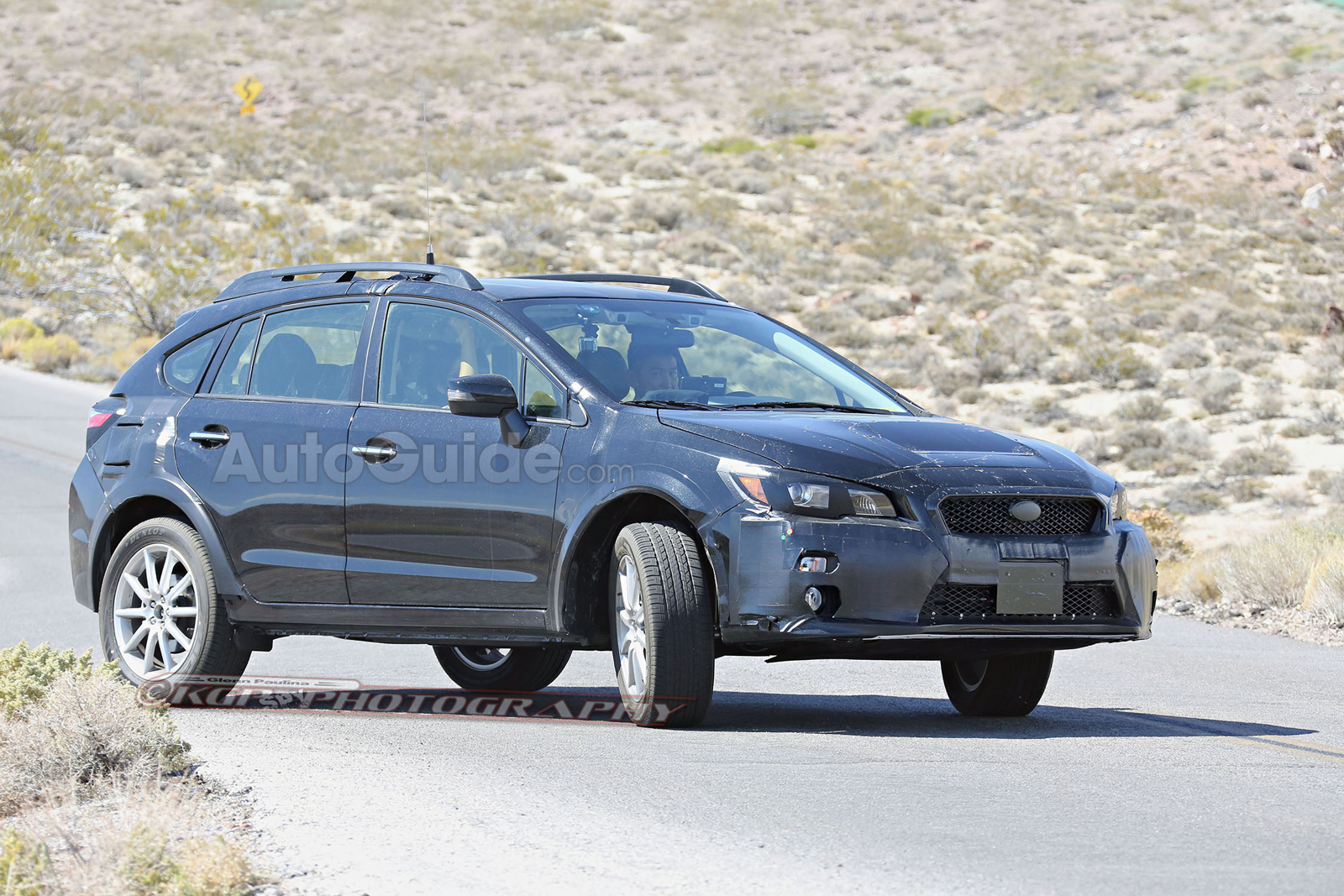 2018 subaru xv crosstrek mule spied testing with possible plug in variant. Black Bedroom Furniture Sets. Home Design Ideas