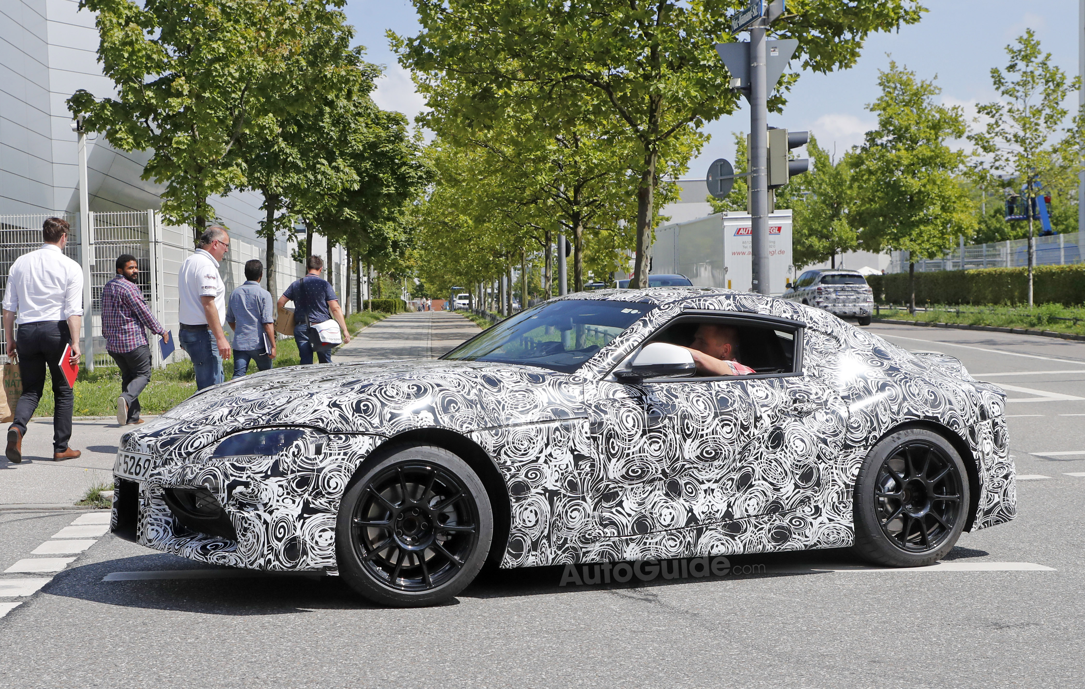 2018 Toyota Supra >> 2018 Toyota Supra Shows Off Production Cues In Latest Spy Photos