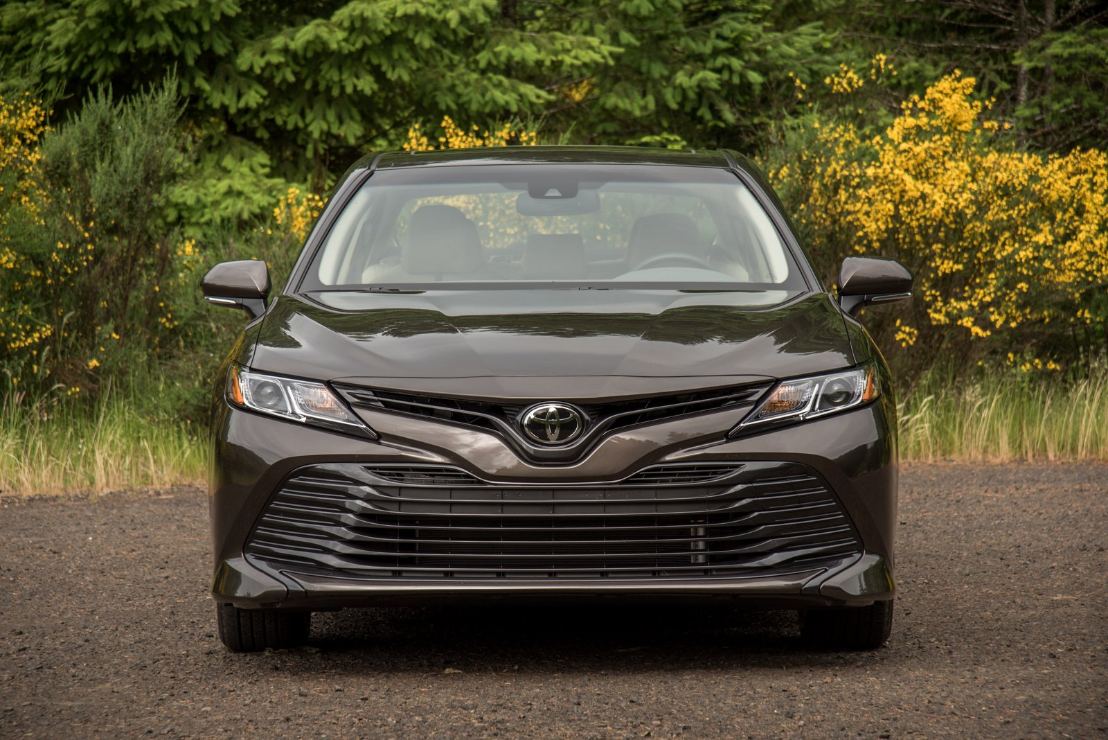 2018 Toyota Camry Le Front