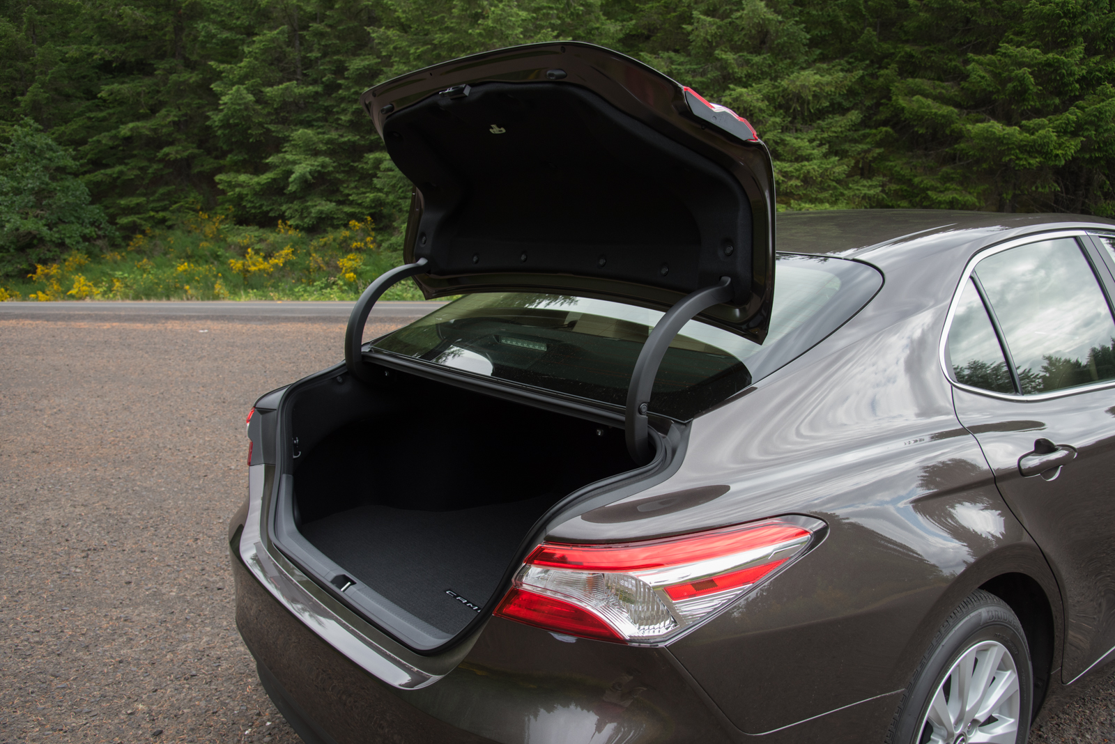 2018 Toyota Camry Le Trunk 03