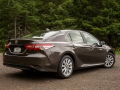 2018-Toyota-Camry-LE-Rear-Three-Quarter