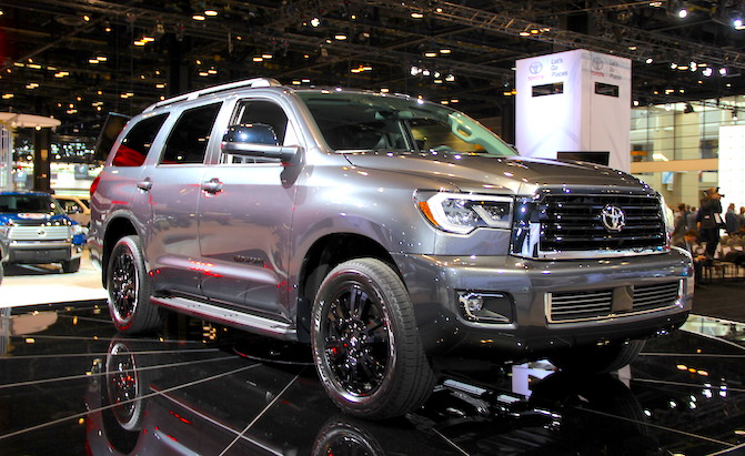 toyota gives its sequoia suv the trd treatment news. Black Bedroom Furniture Sets. Home Design Ideas
