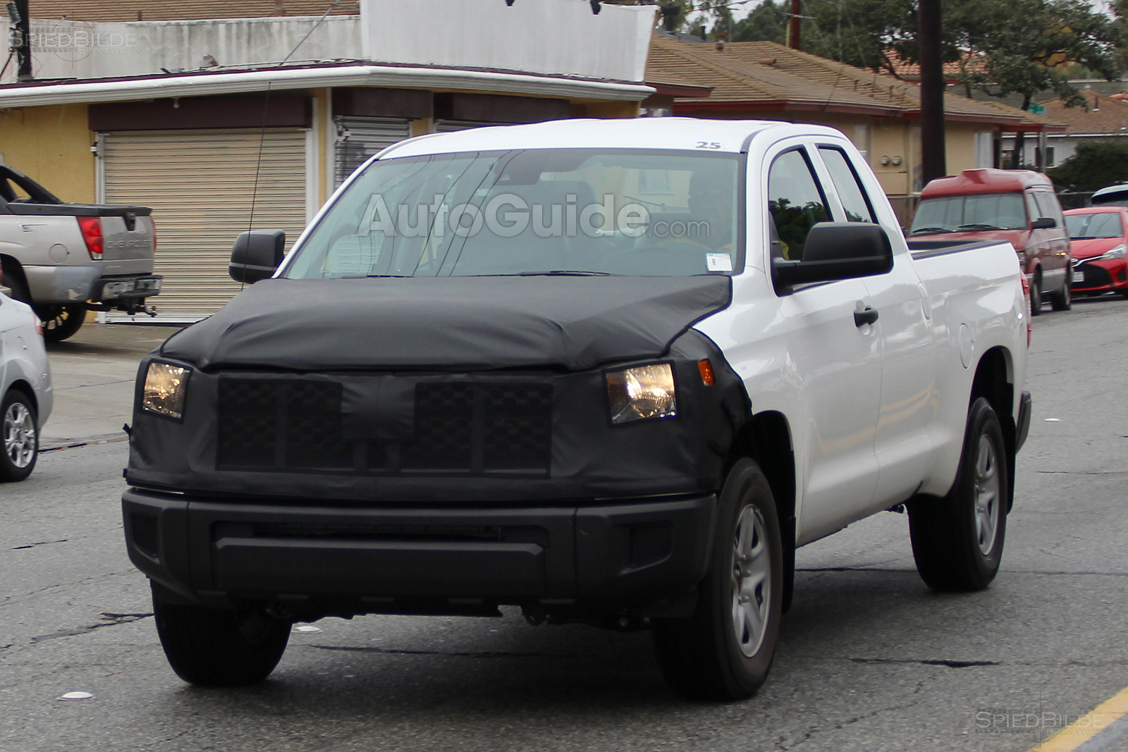 2018 Toyota Tundra Spied Sporting A Facelift