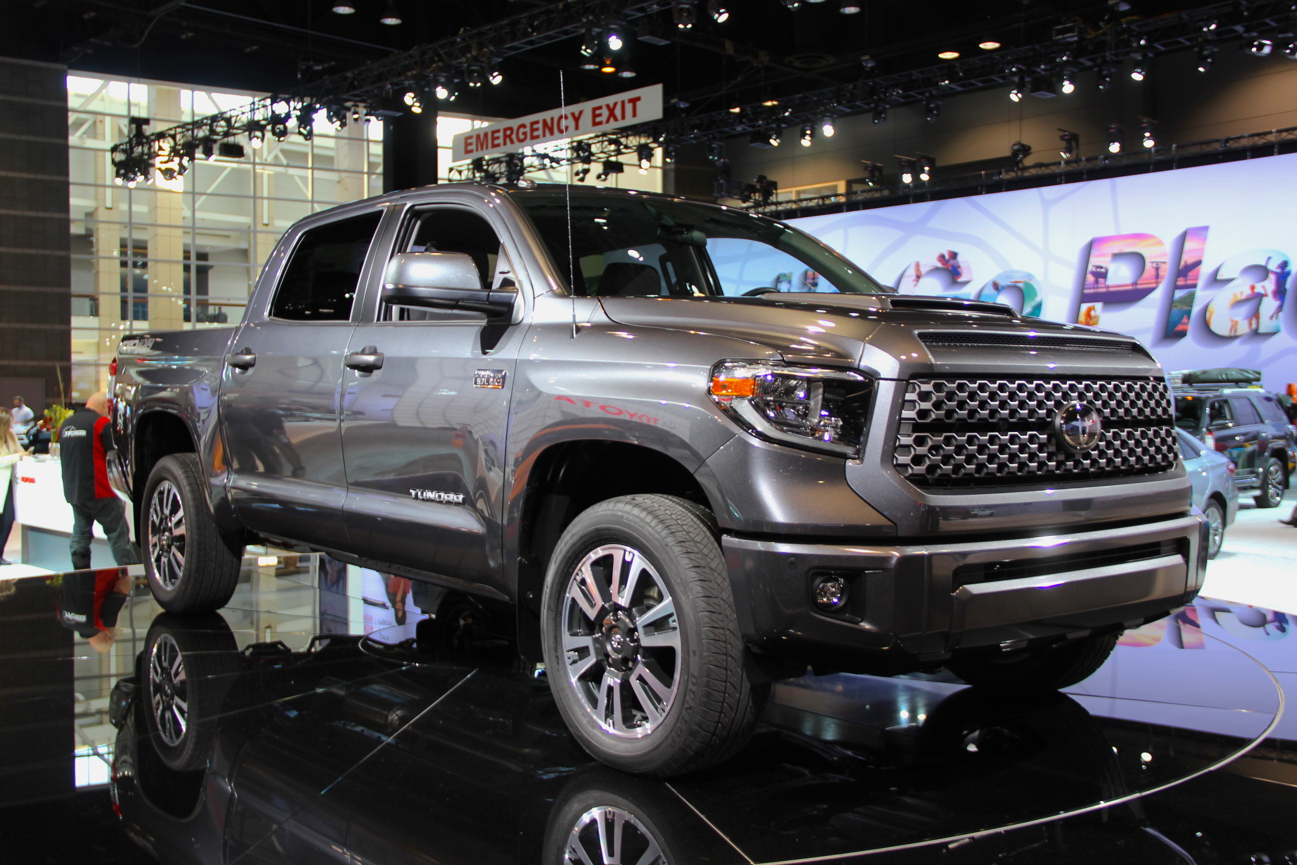 2018 Toyota Tundra Gets Sporty New Trim, Added Safety ...