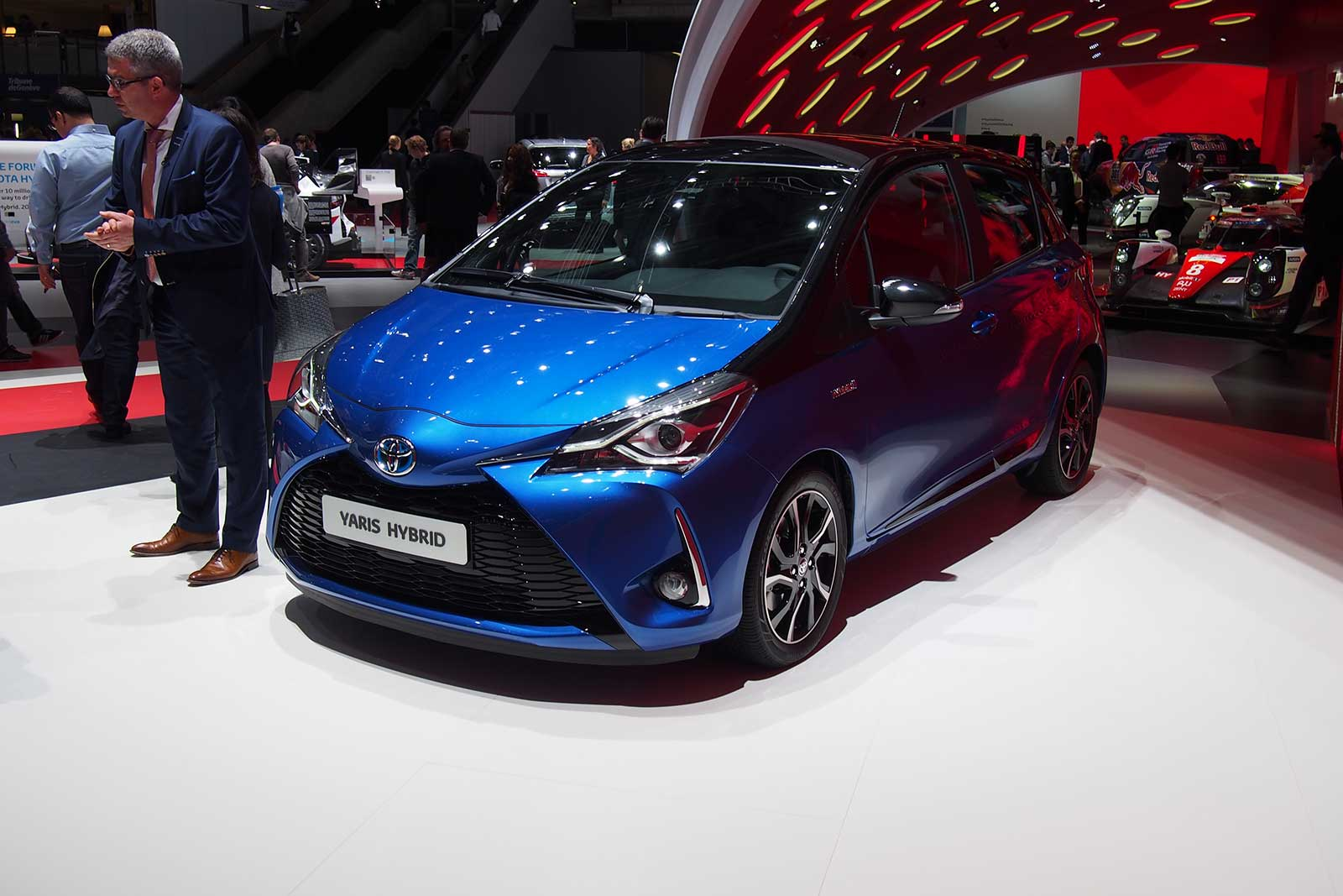 2017 Toyota Yaris Refreshed Gains Supercharged Hot Hatch Model