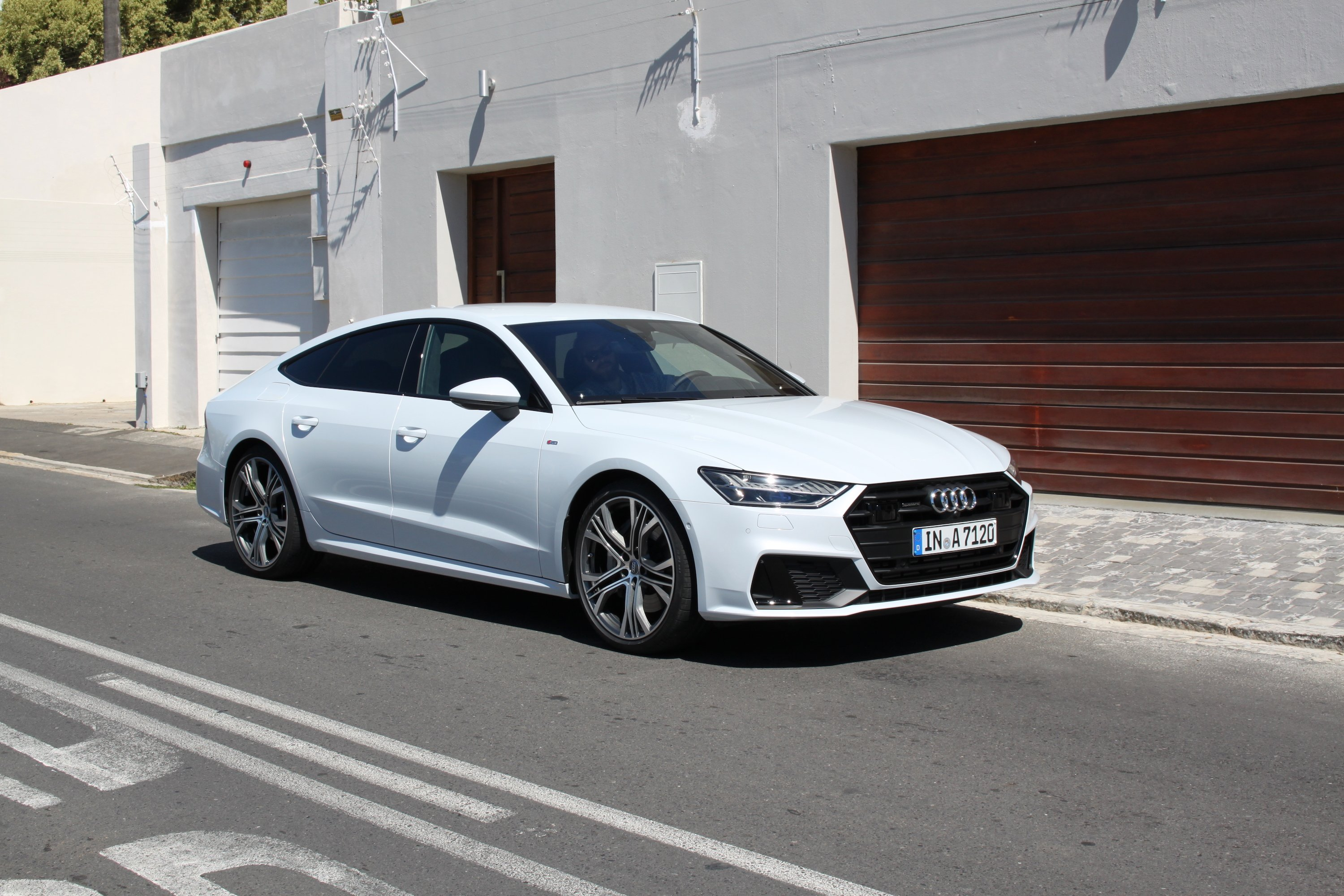 Audi A Review And First Drive AutoGuidecom - Audi a7 review