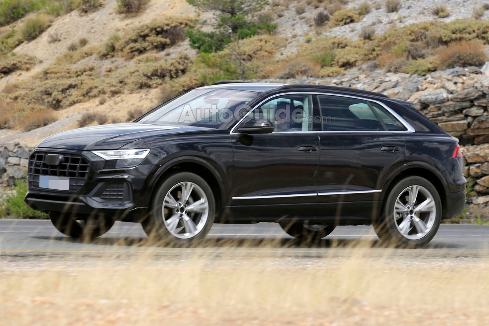 2019 Audi Q8 Spied Fully Exposed 187 Autoguide Com News