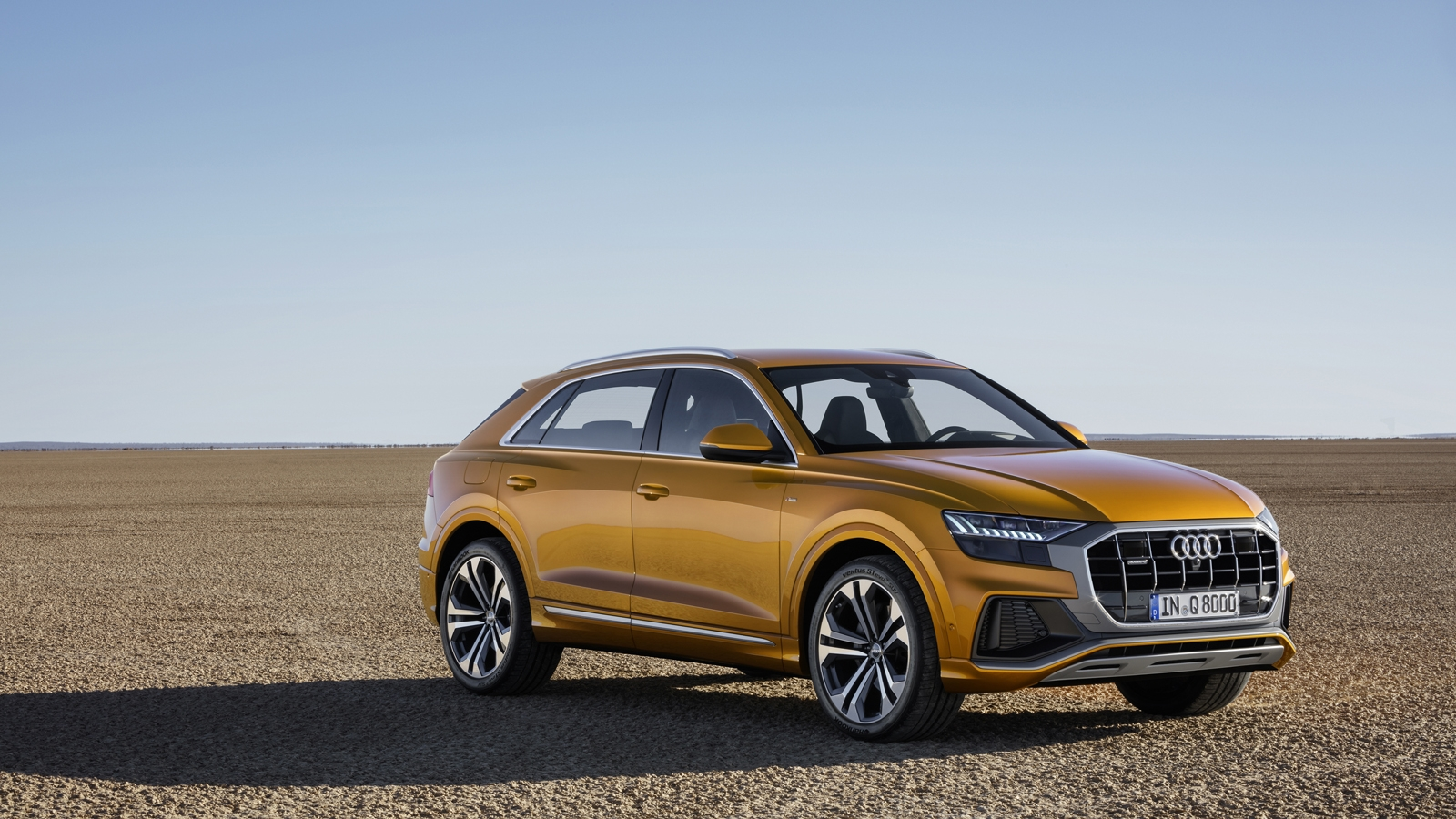 2019 audi q8 debuts with 48v mild hybrid v6 all wheel. Black Bedroom Furniture Sets. Home Design Ideas