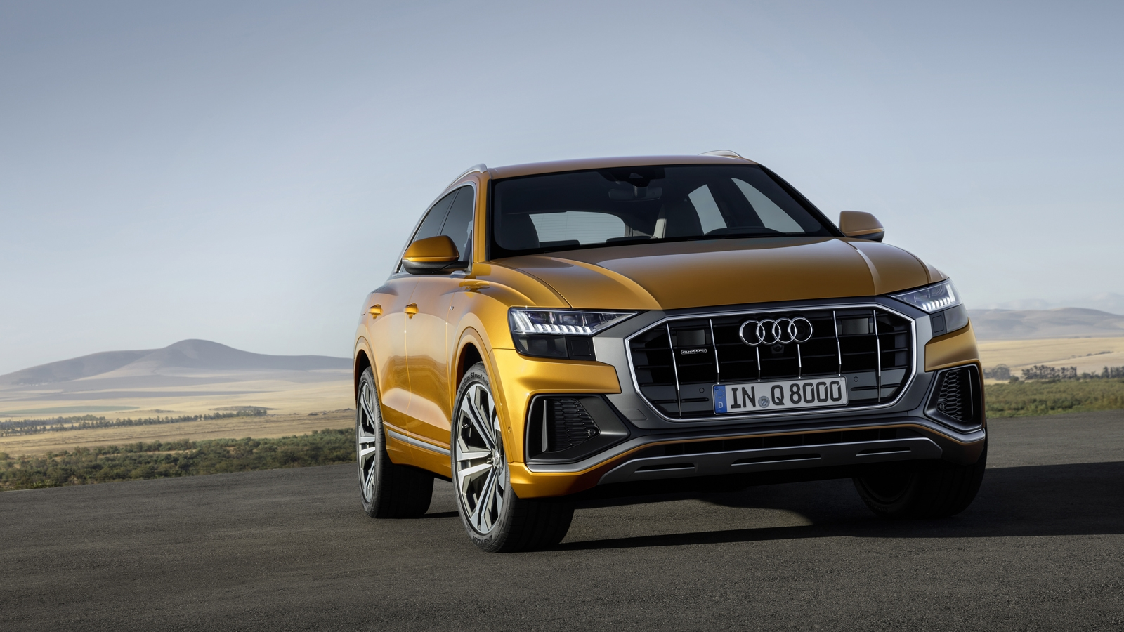 48v Mild Hybrid >> 2019 Audi Q8 Debuts With 48V Mild Hybrid V6, All-Wheel Steering » AutoGuide.com News