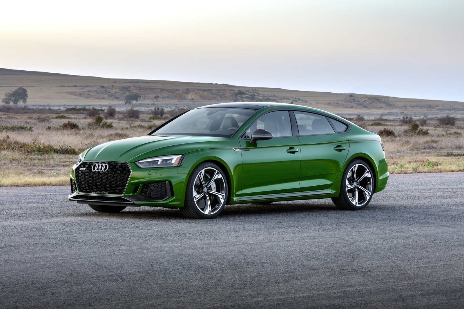 2019 audi rs 5 sportback two more doors same sleek shape news. Black Bedroom Furniture Sets. Home Design Ideas