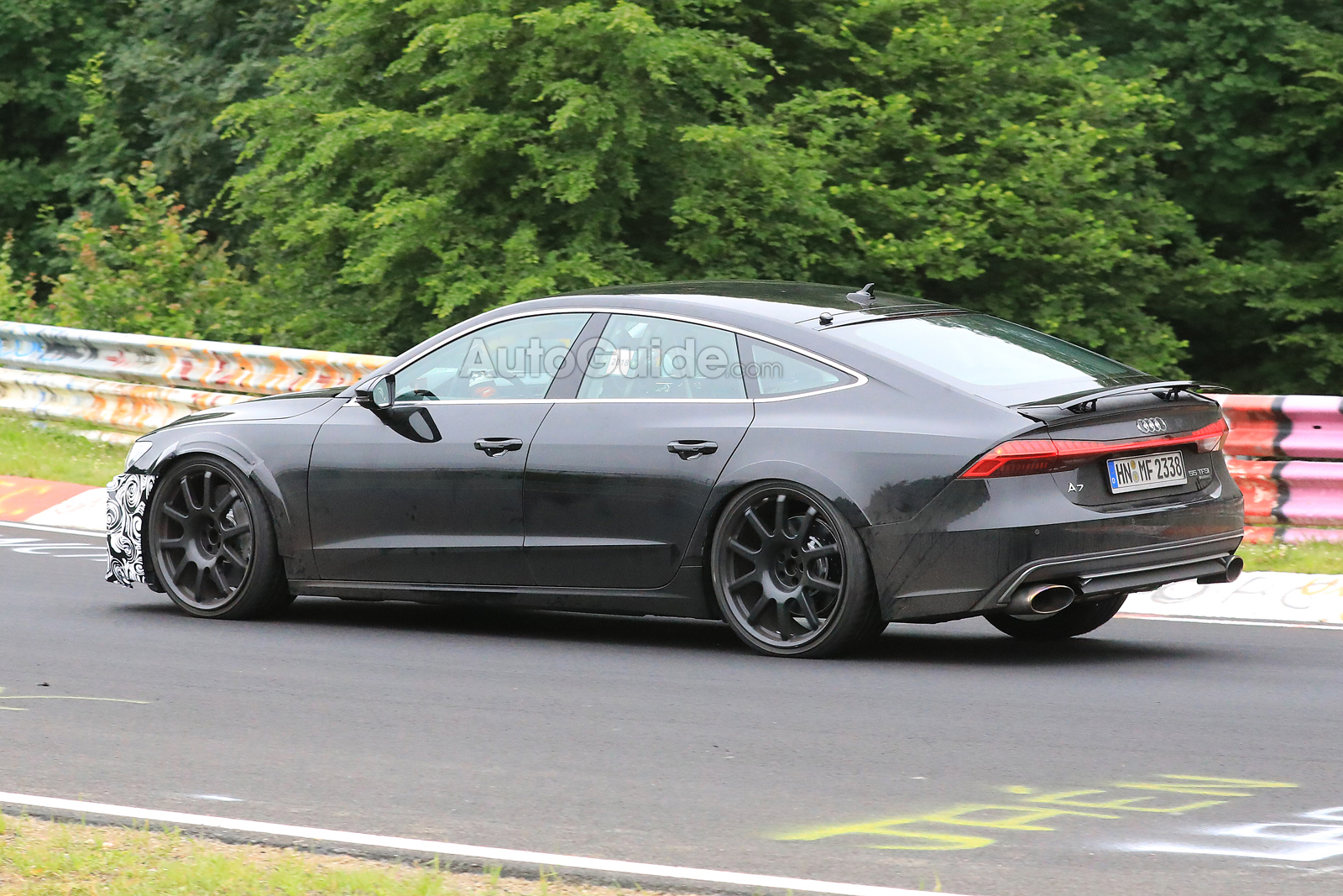 X The New 2019 Audi Rs7