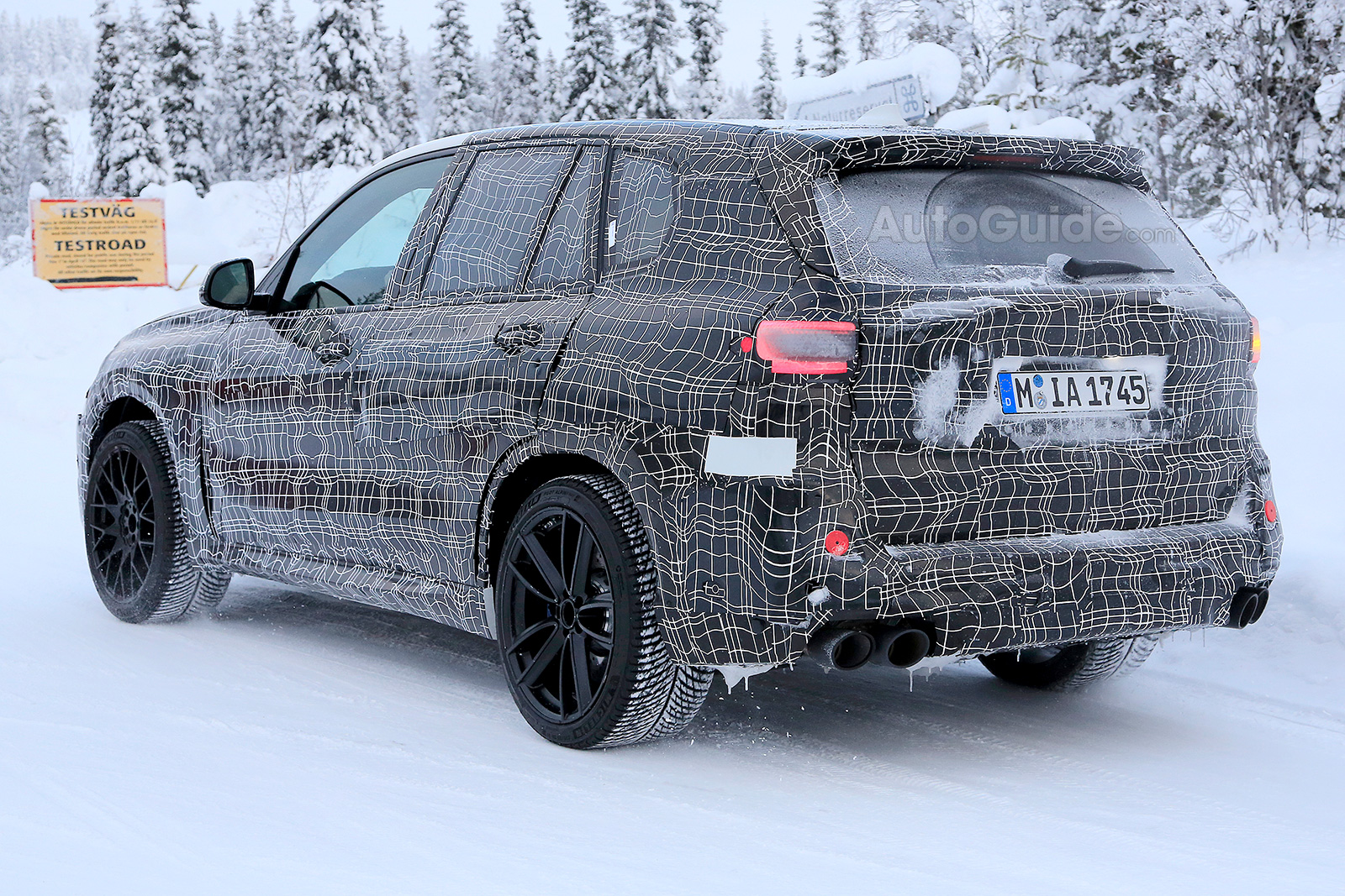 2019 bmw x5 m reveals more of its aggressive styling » autoguide