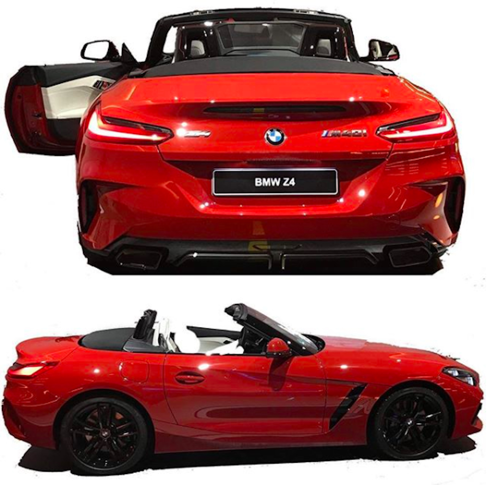 Bmw Z4 Convertible Black: 2019 Z4 Looks Like A 124