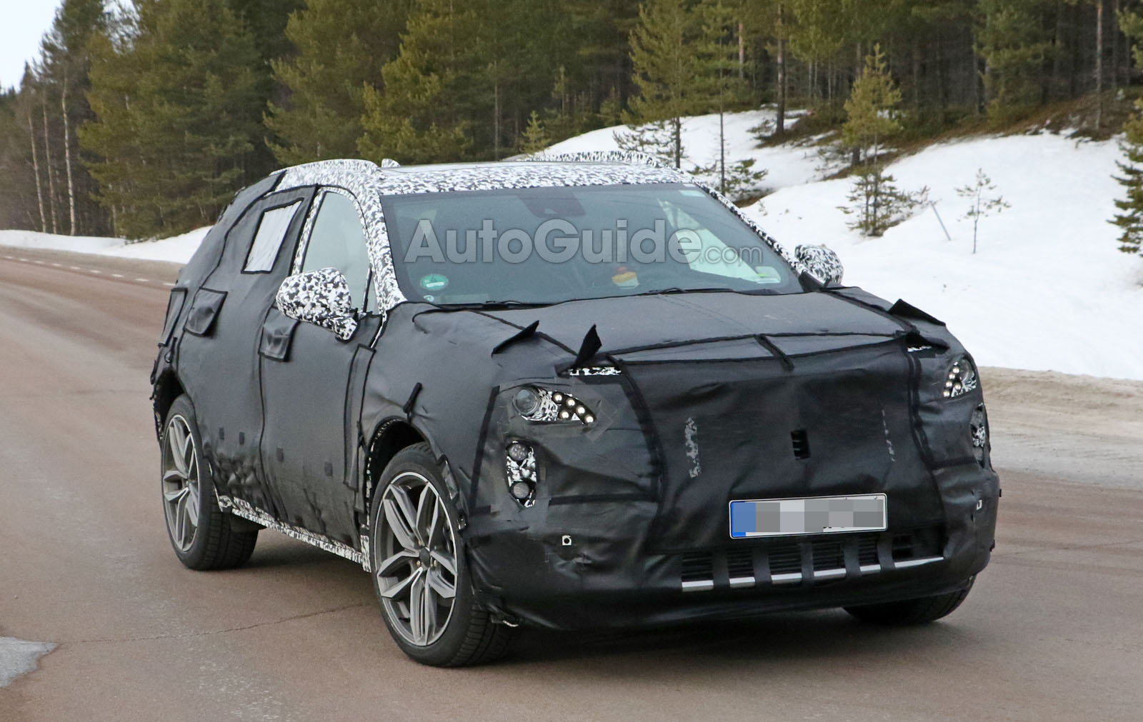 Cadillac Xt3 Compact Crossover Spied Testing For The First