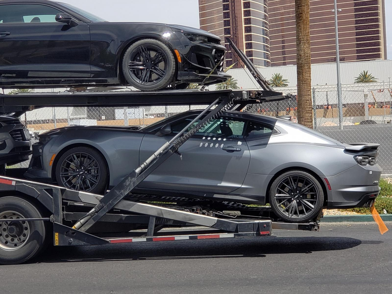 2019 Chevrolet Camaro Zl1 Spotted In Las Vegas 187 Autoguide Com News