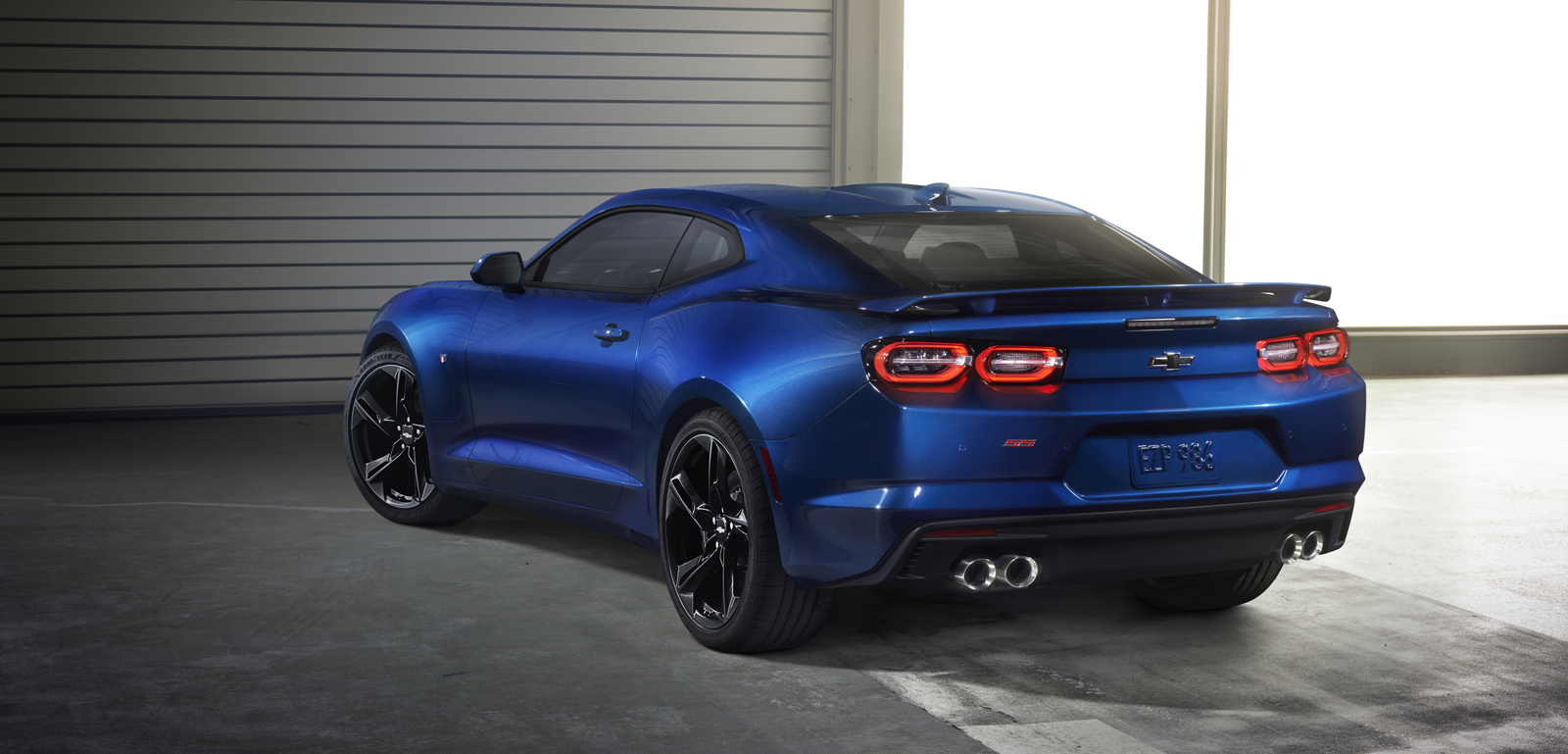 2019 Camaro S New Led Taillamps With A More Sculptured Evolution Of Chevrolet Signature Dual Element