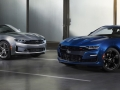 2019 Camaro line features new front-end styling with distinct differences between LS/LT, RS and SS, including the fascia, grille, LED dual-element headlamps and reshaped hood.