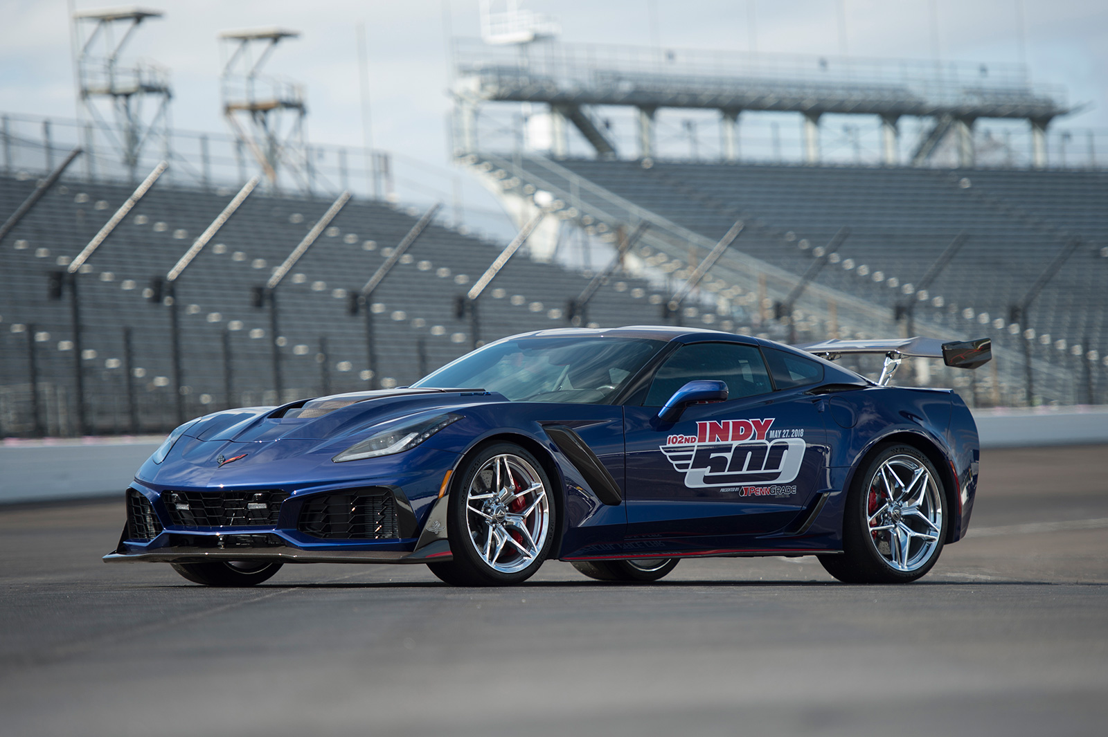 2019 Chevrolet Corvette Zr1 Named Indy 500 Pace Car