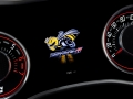 """A new interpretation of the legendary Dodge Super Bee logo, the """"Angry Bee"""" marks the startup splash screen in the instrument gauge cluster of the 2019 Dodge Challenger R/T Scat Pack 1320."""