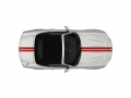 Fiat 124 Spider Classica Red Double Rally Stripe